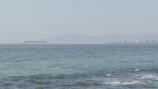 Crucero Grand Princess en Puerto Vallarta