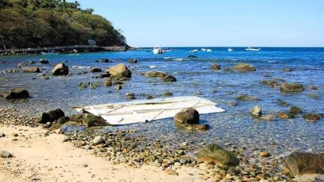 Hundimiento de Canuwa en Playas de Quimixto
