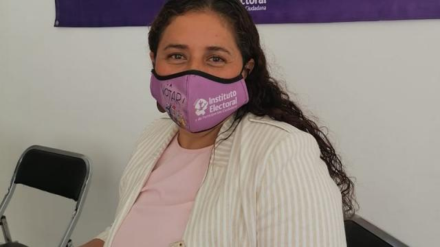 Presidenta del Consejo Distrital 5 del Instituto Electoral