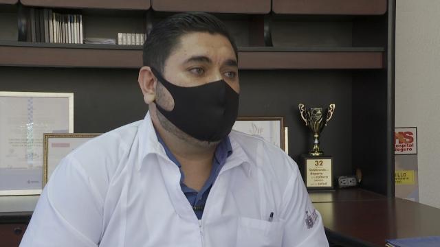Doctor Vladimir Atilano Barraza, nuevo director de la Octava Región Sanitaria