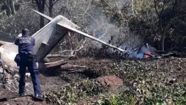 Se estrella avioneta en Veracruz; 7 muertos