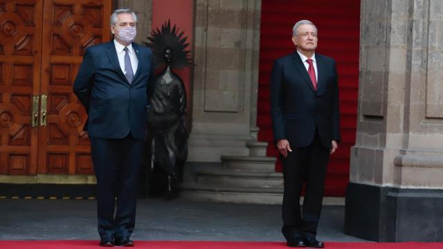 AMLO y Alberto Fernández