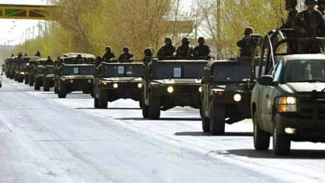 Convoy militar