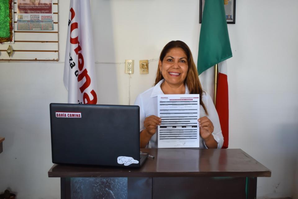 Carmina Regalado. aspirante a la presidencia municipal de Bahía de Banderas