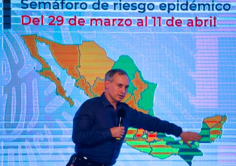 Suman en México 7 estados en semáforo verde de Covid
