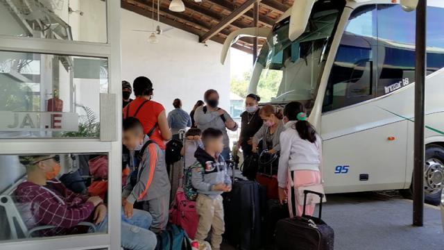 Línea de autobuses registra aumento de pasajerosLínea de autobuses registra aumento de pasajeros