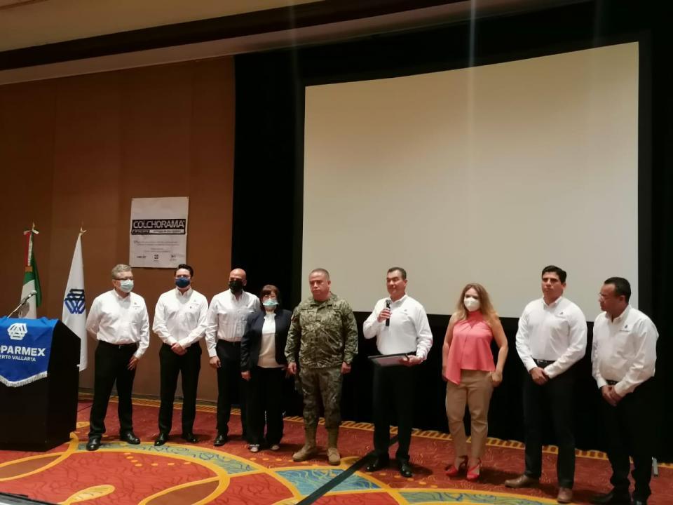Reunión de empresarios con director de Seguridad