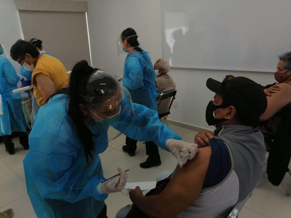 Módulos de vacunación en Bahía de Banderas