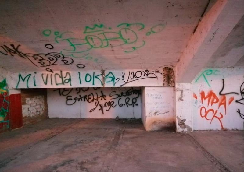 Insegura y abandonada, Unidad Deportiva de La Bobadilla