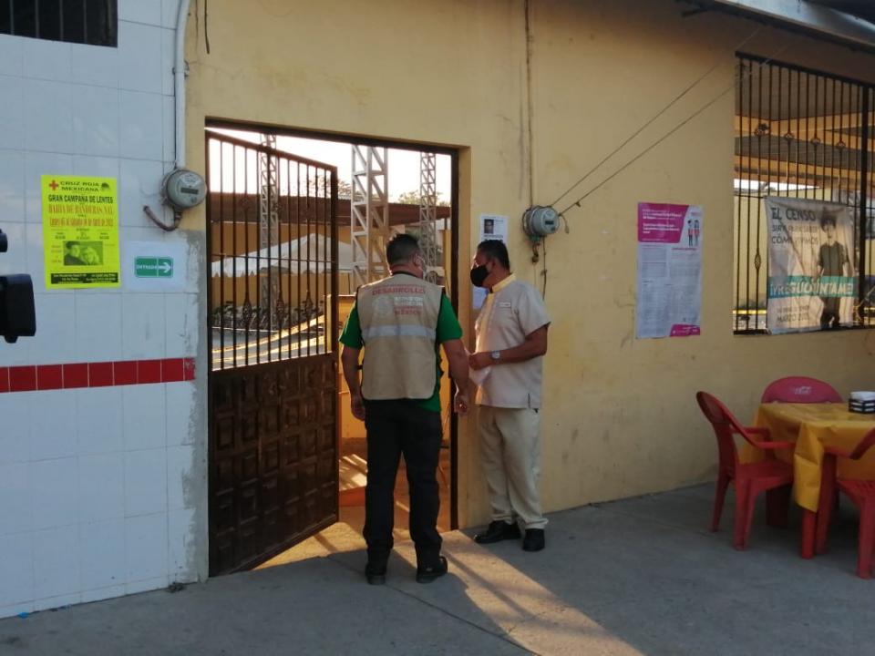 Vacunación en San Vicente Nayarit