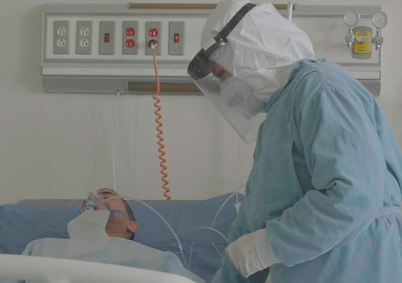 Hospitalizados por covid-19