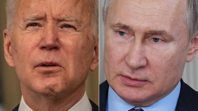 Joe Biden y Vladimir Putin