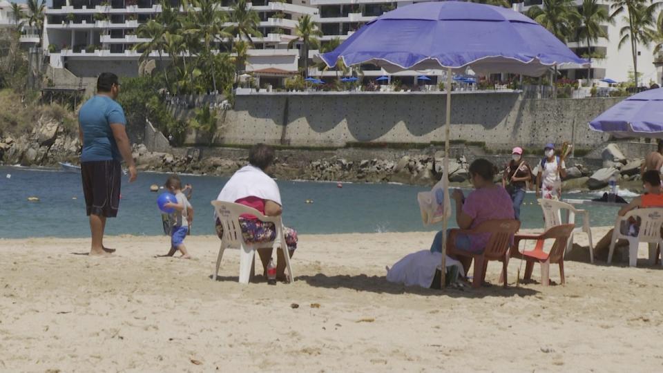 Turismo en playas de Puerto Vallarta