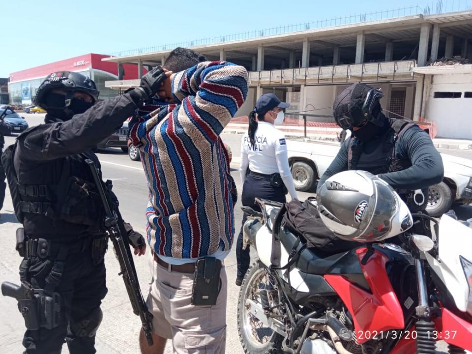 Filtros en entradas de Puerto Vallarta tras balacera