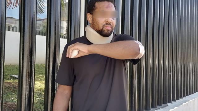 Turista agredido por guardias en un club nocturno