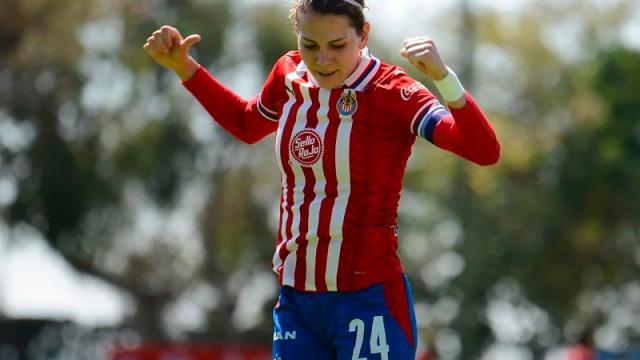 Alicia Cervantes, nueva máxima goleadora de Chivas Femenil