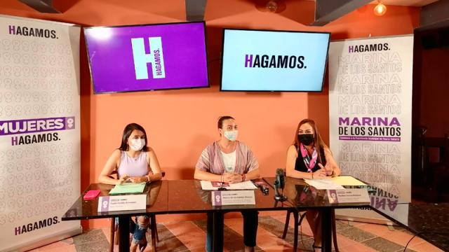 Es Marina de Los Santos contendiente a la presidencia municipal