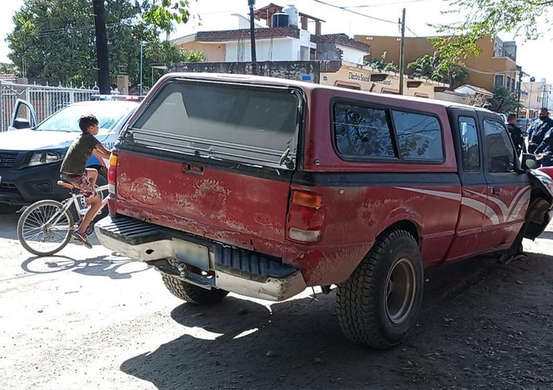 Robo de camioneta