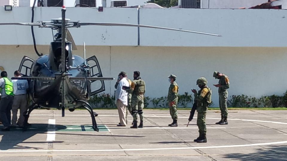 IMSS Helicóptero