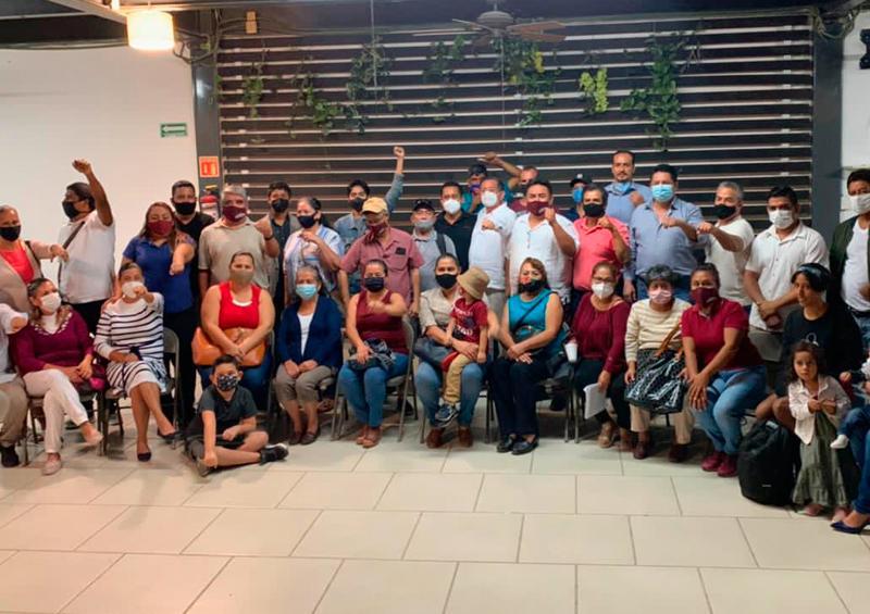 El Profe Michel llama a la unidad en Morena