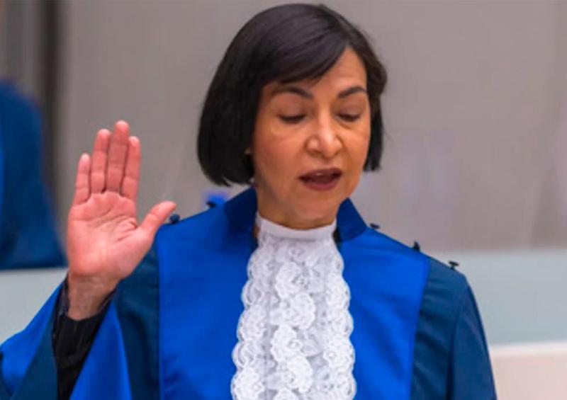 Mexicana jura como magistrada de la Corte Penal Internacional