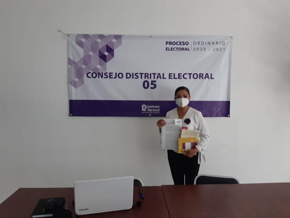 Denuncia por violencia política de género contra Lupita Guerrero