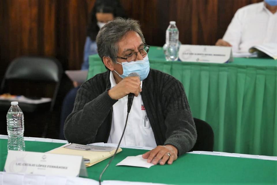 Regidor Cecilio López