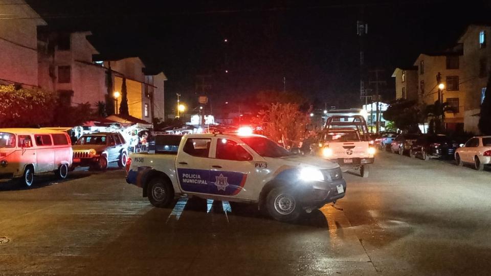 Movilización Policíaca en La Aurora