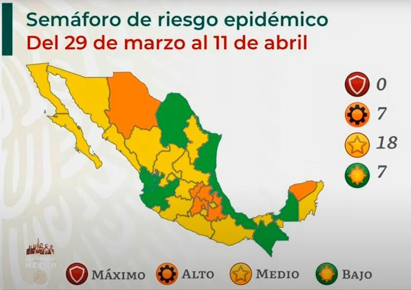 Jalisco cambia a semáforo verde en plena Semana Santa