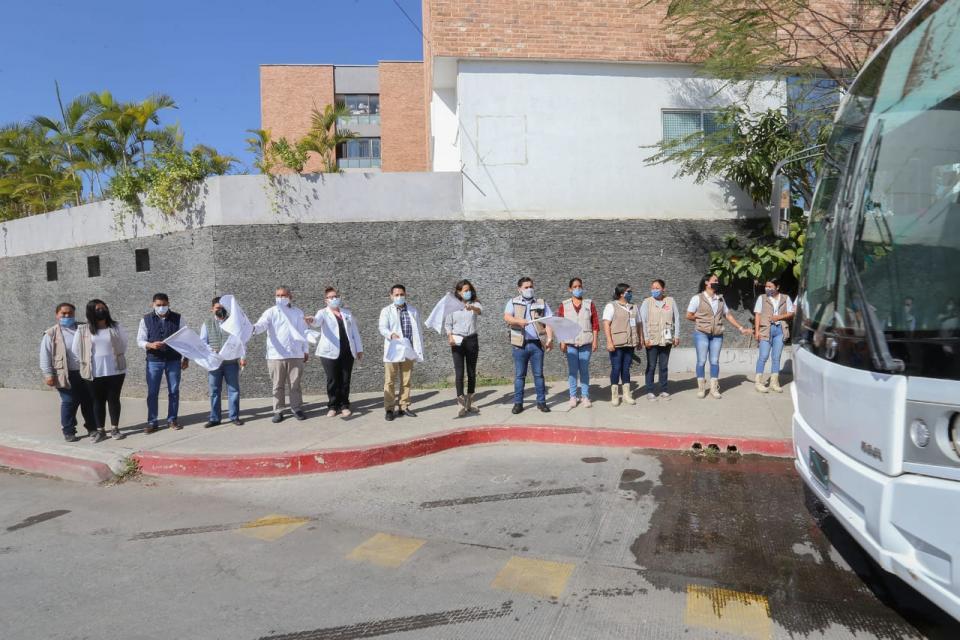 Inauguración de campaña contra el dengue en Vallarta