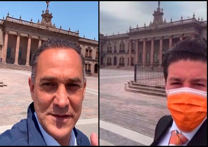 Samuel García presume que Palacio de NL será su oficina