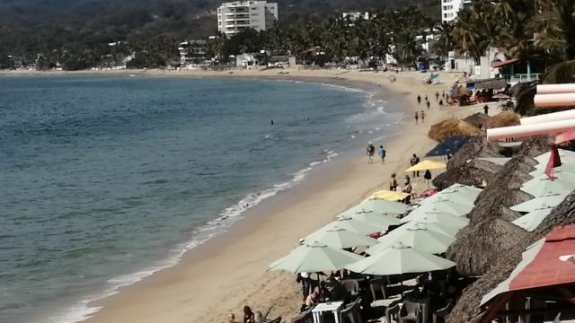 Playa en Bahía de Banderas