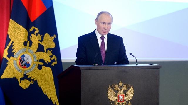 Presidente ruso, Vladimir Putin