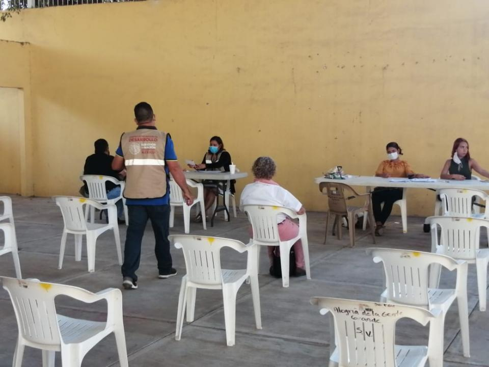 Registro de adultos mayores para vacunarse en Bahía