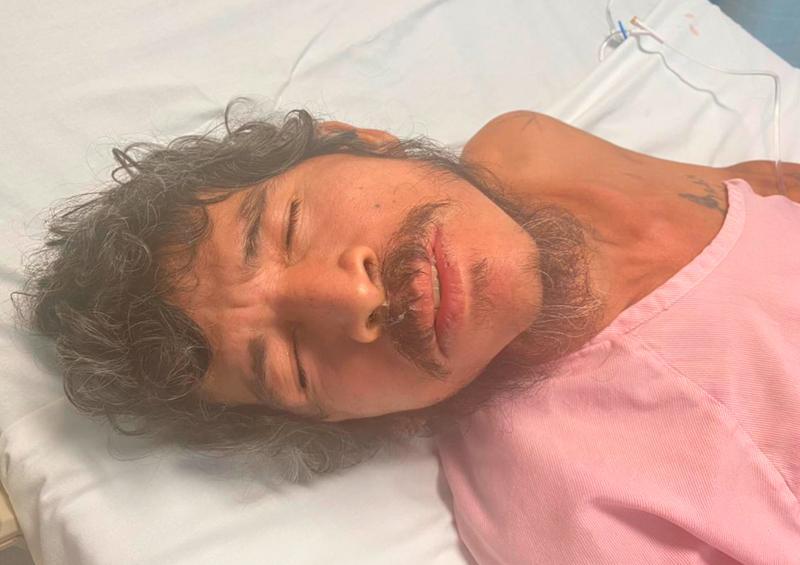 Se busca a familiares de hombre hospitalizado