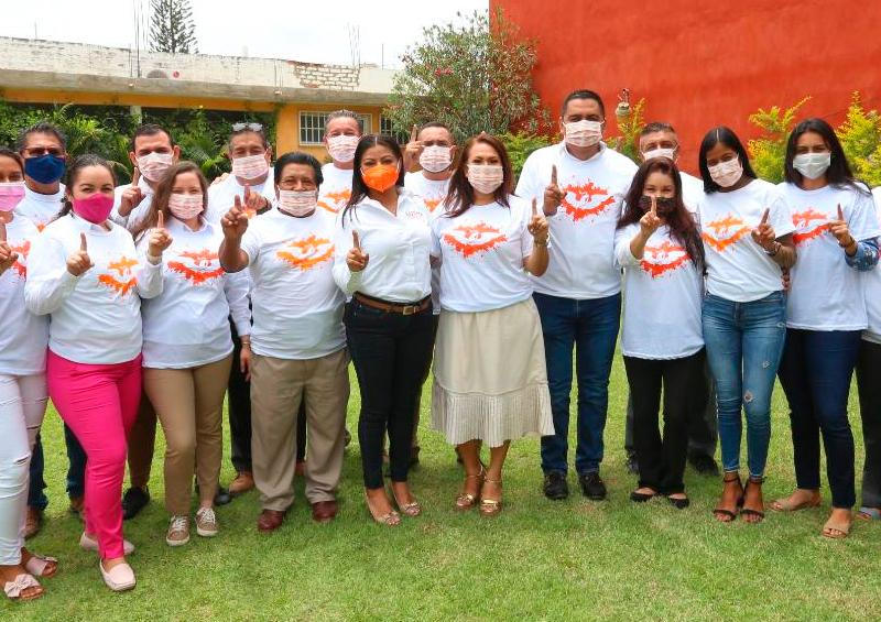Fuerza por México se suma al proyecto de Lupita Guerrero