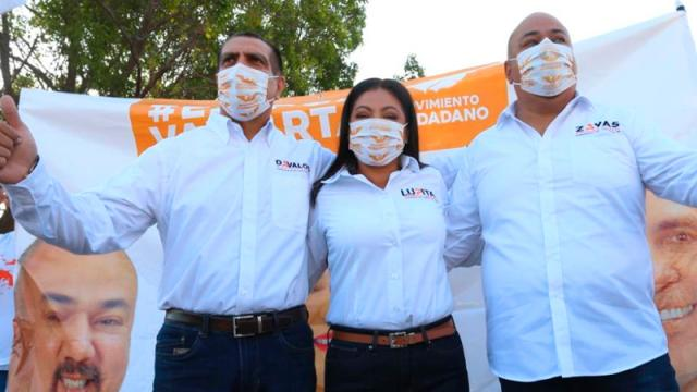"""Arrancan campaña Lupita, Dávalos y Zayas """"crucereando"""""""
