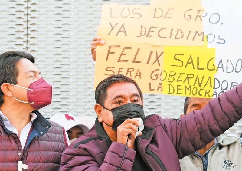 """""""Si no soy candidato, no habrá elecciones en Guerrero"""""""