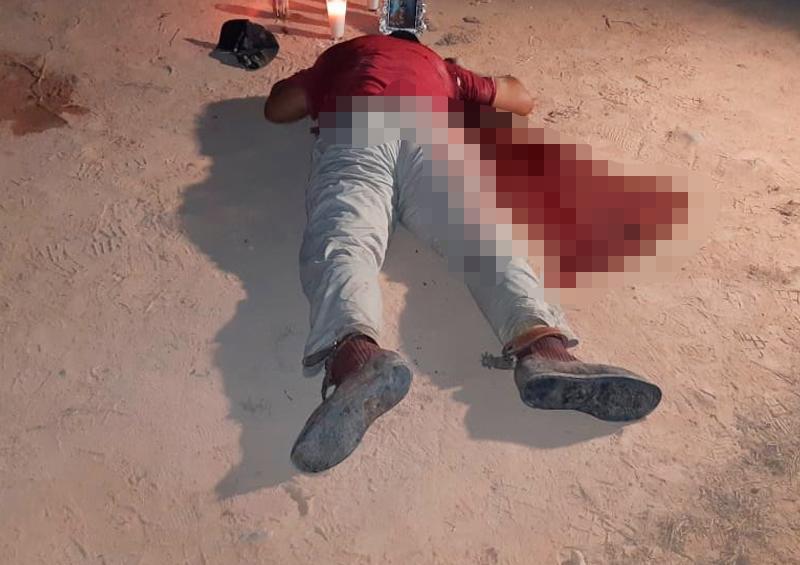 Fue acribillado a balazos cuando salió de su casa a un potrero