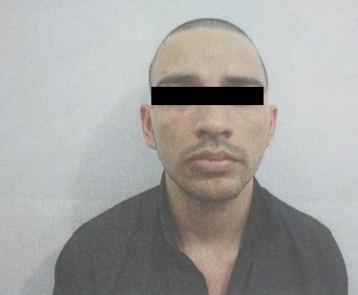 Sujeto detenido y sentenciado