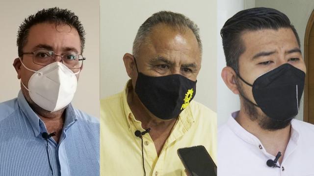 """""""No se debe defender lo ilegal"""" afirman PAN, PRD y MC"""