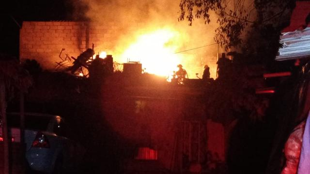 Incendio en El Saltirillo