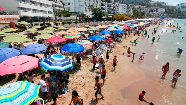 Muy visitadas las playas de Vallarta; Los Muertos, la favorita