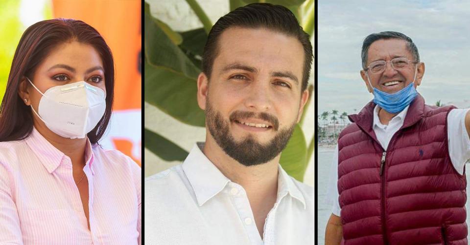 Candidatos alcaldía de Puerto Vallarta