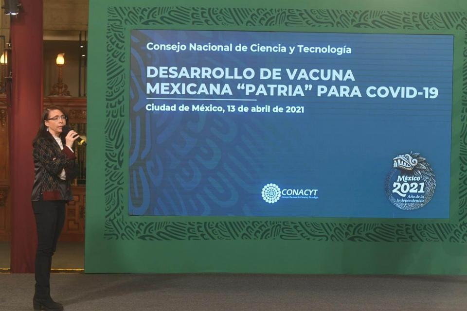 """""""Vacuna se llama Patria para recordar la soberanía a mexicanos"""""""