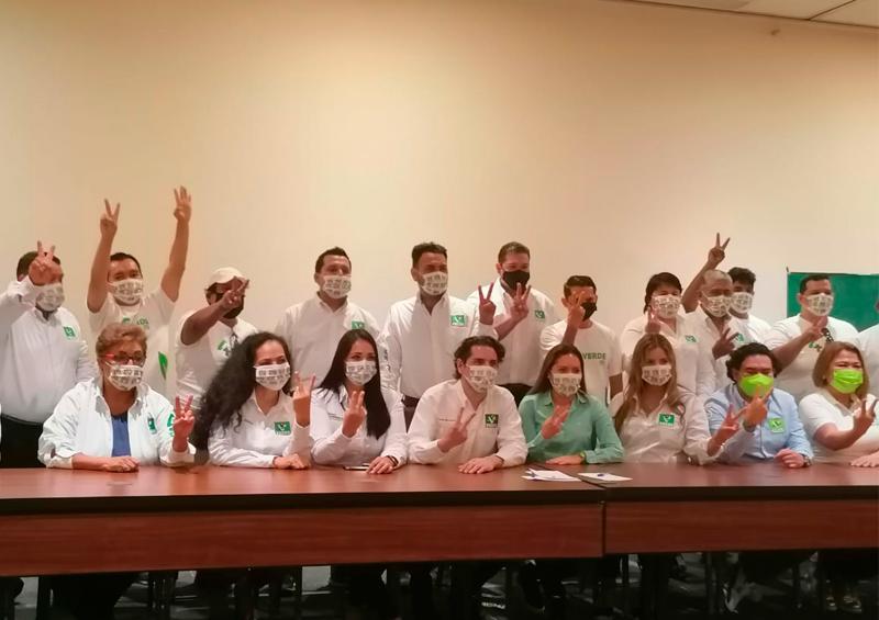 Dirigente del Verde acepta riesgo de candidatos externos en Vallarta
