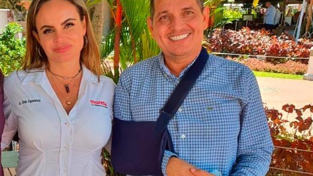 Renuncia coordinador de campaña de Carla Esparza