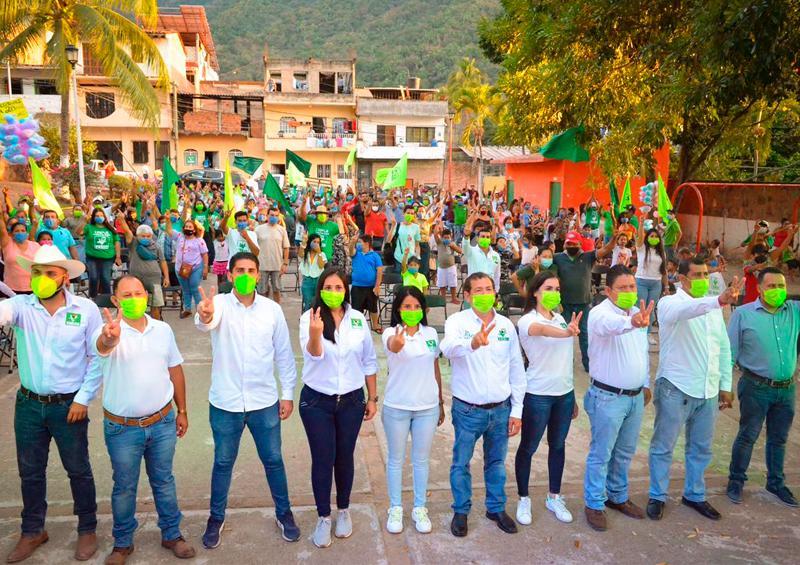 Vallarta quiere un cambio y se los vamos a dar: Partido Verde