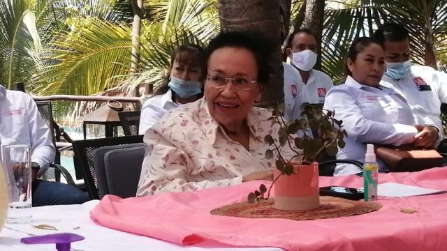 Candidata a la gubernatura por el partido local Levántate para Nayarit