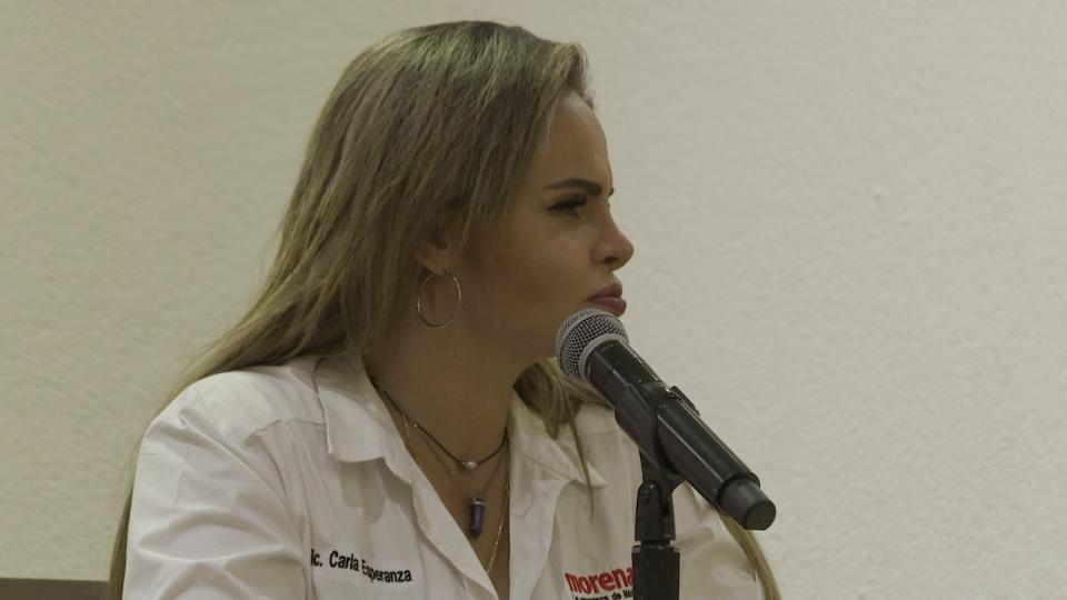 Michel invita a Carla Esparza sumarse a su proyecto